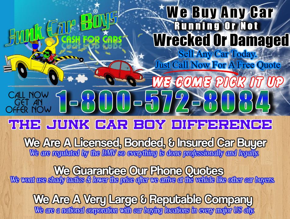 Junk Cars For Cash Nj >> Cash For Cars Newark NJ - We Buy Junk Vehicles Same Day